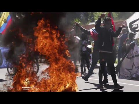 Kriza u Latinskoj Americi, protesti protiv blokade i mjera štednje