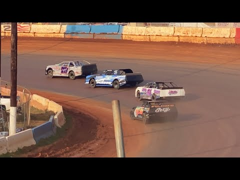7/25/2021 Young Guns V8 Cherokee Speedway - dirt track racing video image