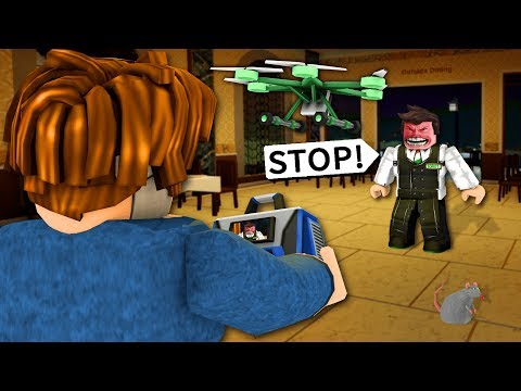 I flew my drone around a ROBLOX restaurant... they got MAD - UCESiRVMacmdsijiOtKvOeKQ