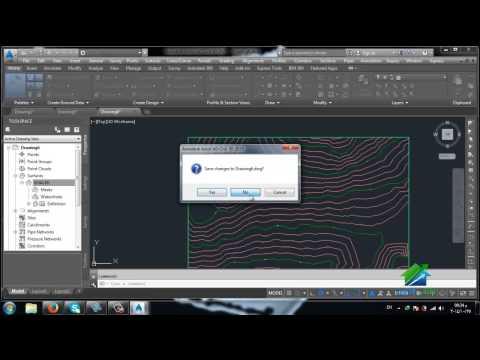 AutoCAD CIVIL 3D | Aldarayn Academy | LEC 6