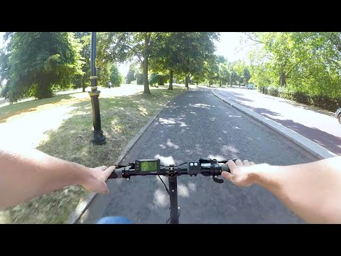 Riding the Furo X Folding Electric Bicycle in London