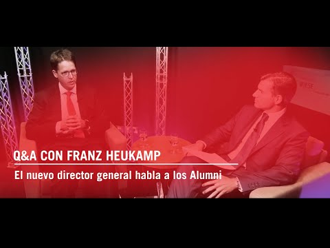 Q&A con Franz Heukamp: el nuevo director general habla con los Alumni