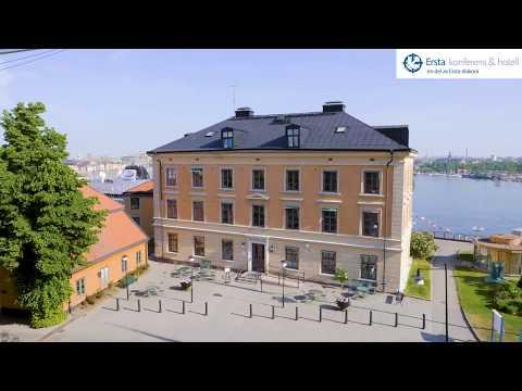 Utsikt från konferensrum på Ersta konferens & hotell