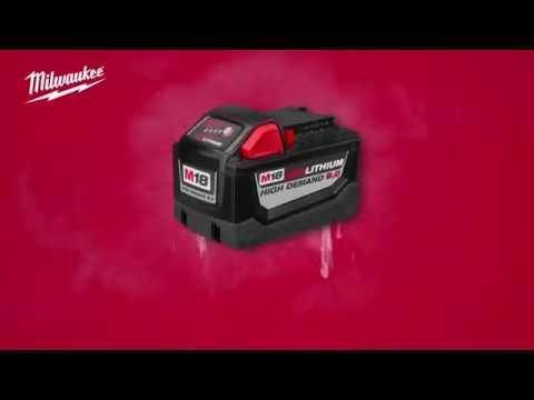 Bateria Milwaukee® M18 Redlithium™ 9.0