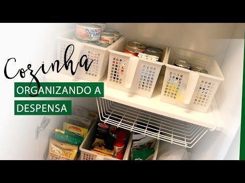 Como organizar a despensa da cozinha | Pigmento F