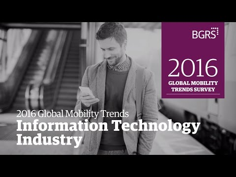 2016 Global Mobility Trends - IT Services