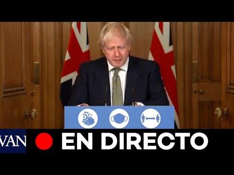 DIRECTO: Boris Johnson anuncia nuevas restricciones en Reino Unido
