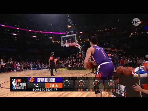 Devin Booker Sets Record, Wins Three-Point Contest
