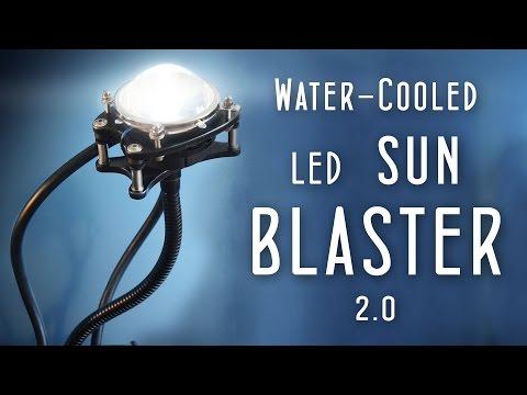 1000w equiv. Watercooled LED (DIY SUN BLASTER 2.0) - UCUQo7nzH1sXVpzL92VesANw