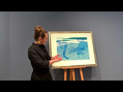 A Closer Look at David Hockney's Lithographs