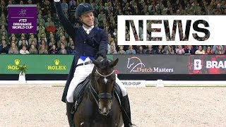 Tight results at the final Dressage leg in 's-Hertogenbosch | FEI Dressage World Cup™
