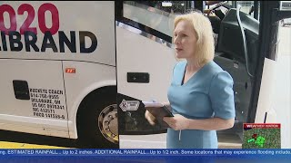 Senator Kirsten Gillibrand Visits Pittsburgh In Bus Tour