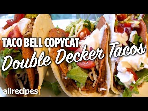How to Make Copycat Taco Bell Double Decker Tacos   At Home Recipes   Allrecipes.com