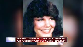 New dig underway in Macomb Township for possible victims of convicted killer