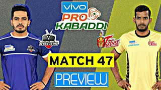 Pro Kabaddi Season 7: Match 47 Haryana Steelers Vs Telugu Titans Preview