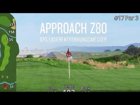 Garmin Approach® Z80 – GPS Laserentfernungsmesser für den Golfplatz