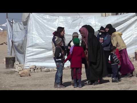 SYRIE: UNE JEUNE FILLE MEURTRIE PAR LA GUERRE