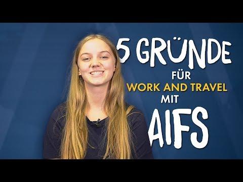 5 Gründe für Work And Travel mit AIFS ✈️🗺️☀️