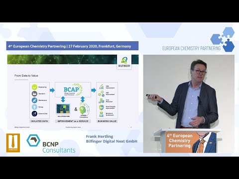 From Data to Value: Bilfinger Digital Next at the 4th European Chemistry Partnering 2020