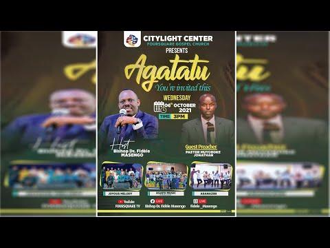FOURSQUARE TV  AGATATU SERVICE WITH  PASTOR MUYOBOKE JONATHAN 6.10.2021
