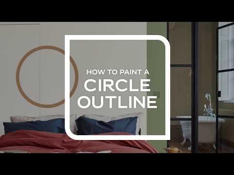 Hur måla cirkel
