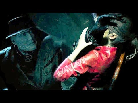Resident Evil 2 Remake New Mr X Tyrant Boss Fight Gameplay Demo