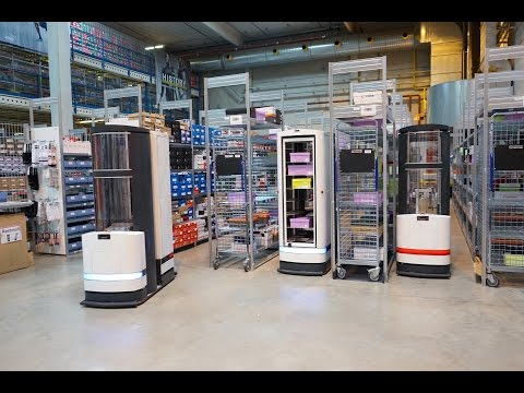 Pick-by-Robot: warehouse automation with Magazino at FIEGE Logistik