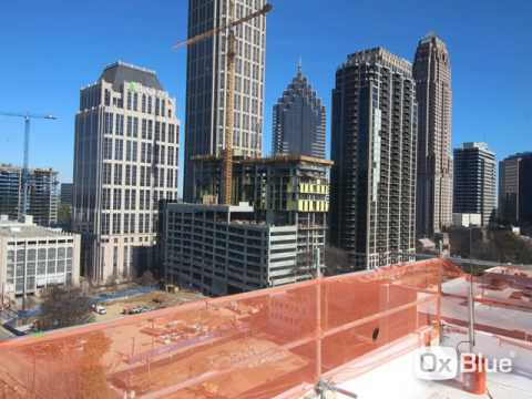 Going vertical with Midtown Atlanta tower crane jump