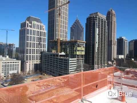 Going vertical with Midtown Atlanta tower crane jump