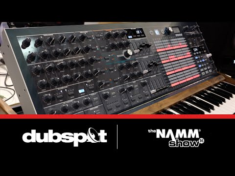 NAMM 2016: Arturia MatrixBrute Analog Synthesizer