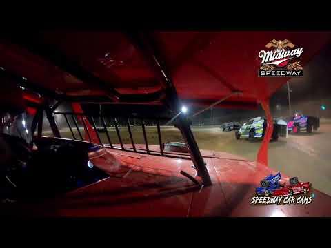 #f1 Mitchell Franklin - USRA B Mod - 5-30-2021 Midway Speedway - In Car Camera.mov - dirt track racing video image