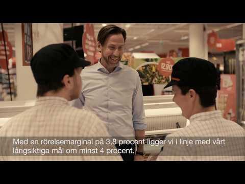 Axfoods vd och koncernchef Klas Balkow om resultatet för Q1 2018
