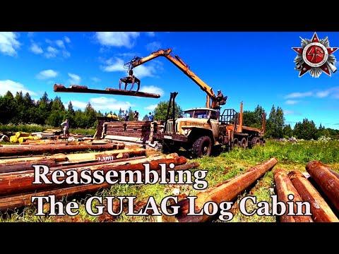 The GULAG Hub Log House | Back At The Mega Busy Homestead