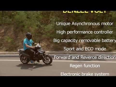 High performance electric bike Denzel Volt on test drive