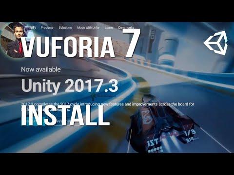 Vuforia 7/ Unity 2017.3 Download/Install and HelloWorldAR
