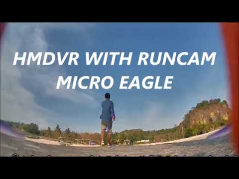 HMDVR ,Runcam Micro Eagle,pantai ekas