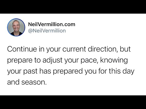 The Long Term Perspective - Daily Prophetic Word