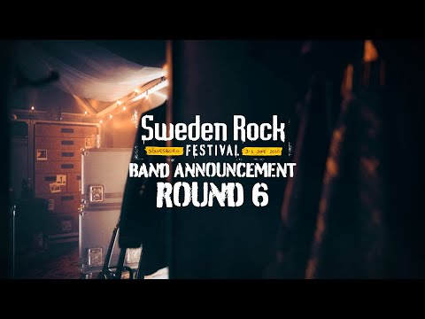 SWEDEN ROCK FESTIVAL 2020 Band Announcement - ROUND 6