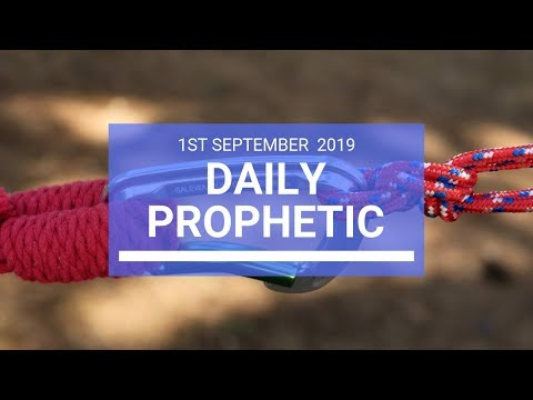 Daily Prophetic 1 September Word 2