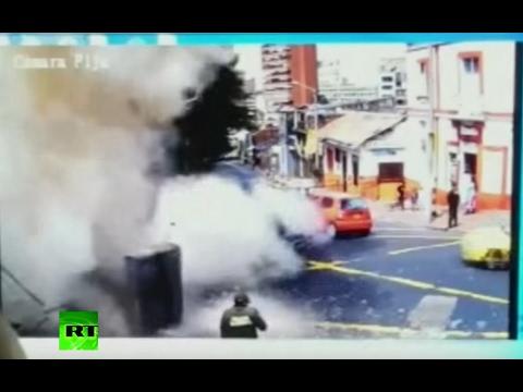 Bomb detonates ahead of bullfight in Colombia, dozens injured
