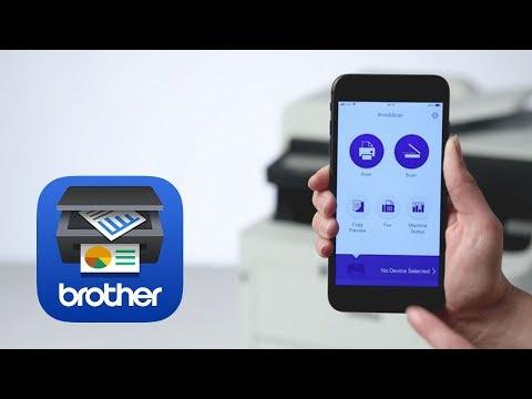 Brother iPrint&Scan – Bilder und Dokumente aus der Zwischenablage drucken