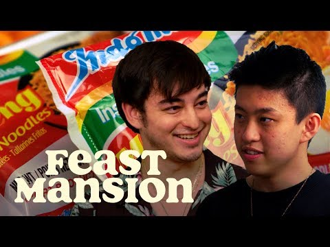 Feast Mansion S1: E#6 - Joji and Rich Brian Have an Instant Noodle Battle | Feast Mansion