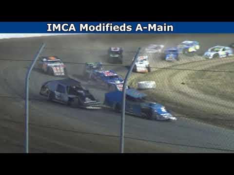 Grays Harbor Raceway, July 24, 2021, IMCA Modifieds A-Main - dirt track racing video image