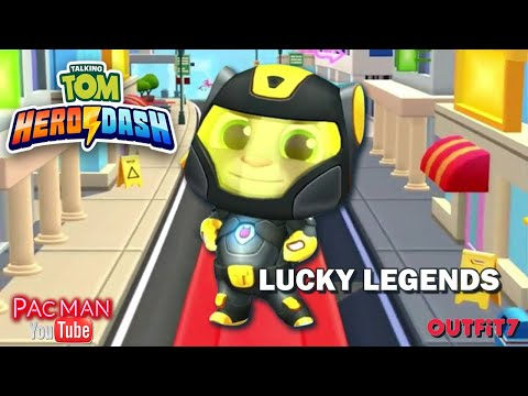 Talking Tom Hero Dash  Special Events Lucky Legends New Outfit