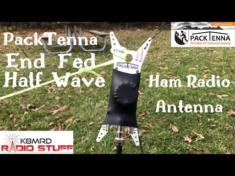 PackTenna EFHW portable Ham Radio Antenna review