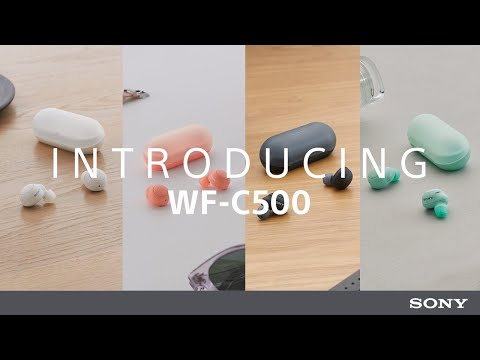 Introducing  the  Sony  WF-C500  Truly  Wireless Headphones