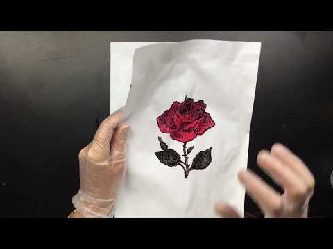 ( 631 ) Experimenting inkjet on paper with medium
