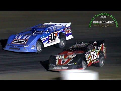 Desert Thunder Raceway Late Model Main Event 8/28/21 - dirt track racing video image
