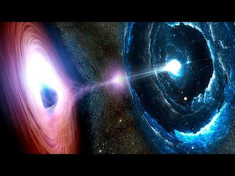 Что Если Наша Вселенная Столкнулась Бы с Другой Вселенной?
