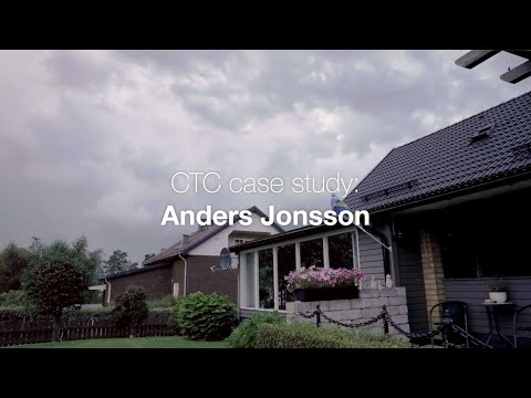 Anders is done with firewood – chose a modern ground source heat pump instead